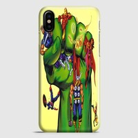 Funny Marvel Movies iPhone X Case