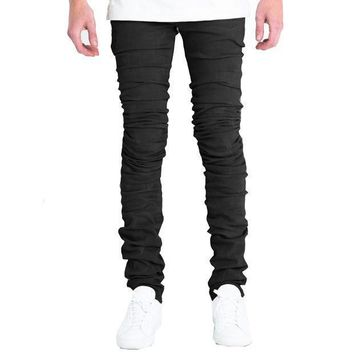 Embellish Nyc Cano Jeans In Black - Beauty Ticks