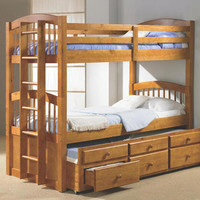 Brownsville Twin over Twin Combo Bunk Beds