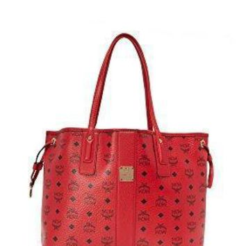 MCM Women's Reversible Shopper Tote Fashion bags Day-First™