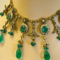 Beautiful Green Victorian Inspired Designer by MagicalColors
