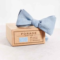 FORAGE Haberdashery Light Denim Bow Tie- Assorted One
