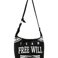 Supernatural Team Free Will Hobo Bag