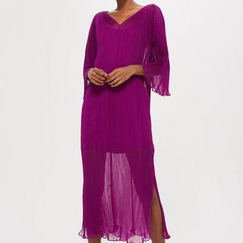 **Pleated Batwing Dress by Boutique - Clothing