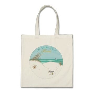 Ft. Walton Beach (Florida) Budget Tote Bag