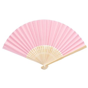 China folding Paper hand fan custom halloween ladies baby shower wedding favors gift birthday party decoration