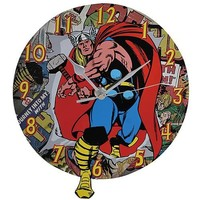 Mighty Thor Wall Clock - Westland Giftware - Thor - Clocks at Entertainment Earth