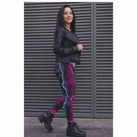 Electric Lightning Bolt Leggings