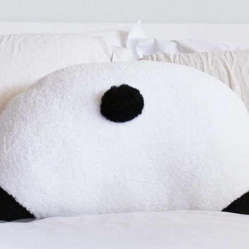 Panda Booty Pillow - Back Pocket - Panda Butt - Panda Gifts - 22 x 16 in