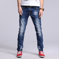 Fashin Stylish Mens Slim Cotton Jeans [6542513859]