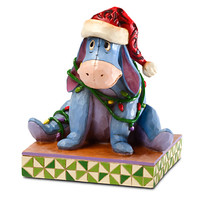 Santa Eeyore Figure by Jim Shore