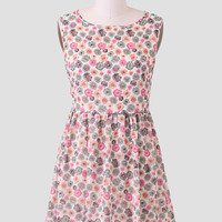 Start The Movement Floral Dress