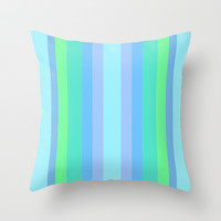 Caribbean Cool Throw Pillow by Lisa Argyropoulos