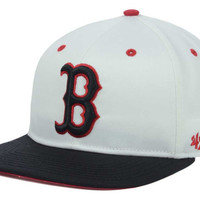 Boston Red Sox MLB Red Under Snapback Cap