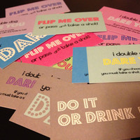 25 Dare Cards - Bachelorette Party Pack