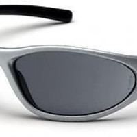 Pyramex Zone II Silver Frame Gray Lens Safety Glasses SS3320E Work Sport Eyewear