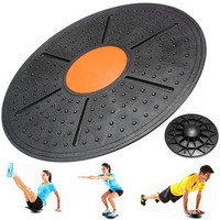Yoga Wobble Balance Board Stability Disc Ankle Knee Rehab Exercise Balance Trainer Fitness 37cm [8069648711]
