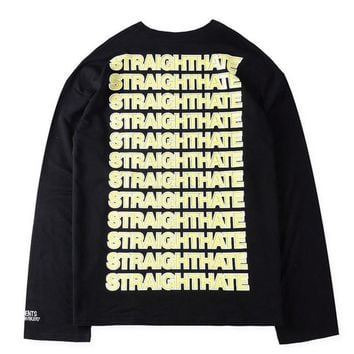 ca qiyif Vetemnets Black Long Sleeve Rep
