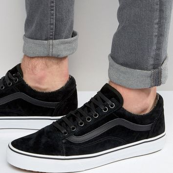 Vans Old Skool MTE Suede Trainers In Black V00ZDKJTF