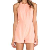 BEC&BRIDGE Honour Playsuit in Peach