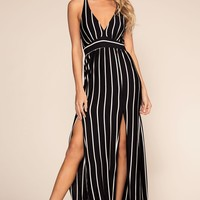 Coryn Striped Maxi Dress
