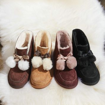 ugg women s kallen pom pom shoes