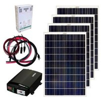 Grape Solar, 400-Watt Off-Grid Solar Panel Kit, GS-400-KIT at The Home Depot - Mobile