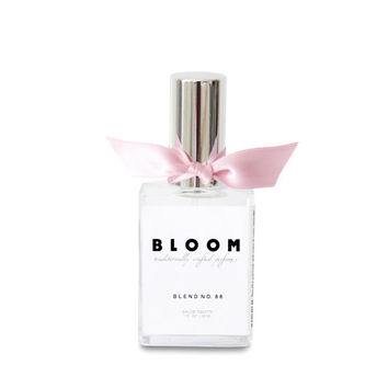 Blend no. 88 - Lovely & Floral. Rose, Lavender, Hibiscus, Lilac Eau de Toilette 1 oz Spray Perfume. Bloom Artisan Fragrance Blends