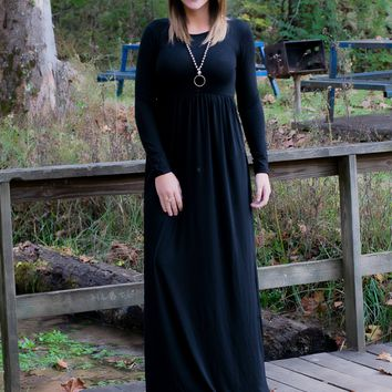 Night Out Maxi- Black