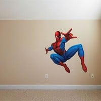 Spiderman Figure Wall Decals
