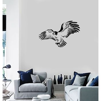 Vinyl Wall Decal Eagle Bird Beautiful Room Decoration Creative Idea Interior Stickers Mural (ig5990)