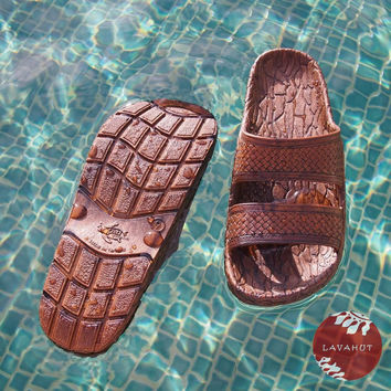 Brown Cruise - Pali Hawaii - Hawaiian Jesus Sandals