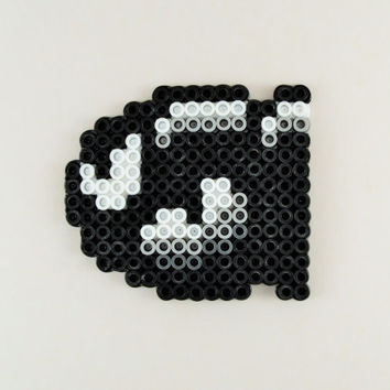 Bullet Bill Ornament/Magnet // Super Mario Perler