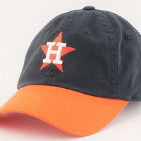 Houston Astros MLB American Needle Bleacher Seat Two Tone Adjustable Twill Cap