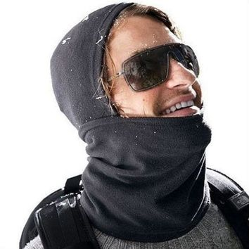 ac DCK83Q Multi-function Winter Fleece Hats Outdoors Scarf Skiing Face Mask [10250094860]