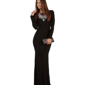 Chanelle- Black Prom Dress