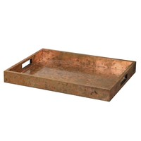 Ambrosia Copper Tray by Uttermost