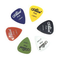 6pcs Alice Guitar Picks Acoustic Electric Palheta Thickness 0.58mm-1.50mm Optional - Color Random