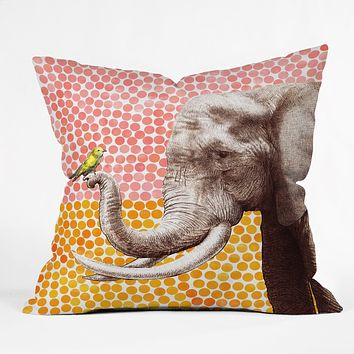 Garima Dhawan New Friends 2 Throw Pillow