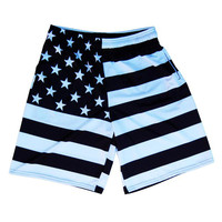 Copy of American Black Flag Sublimated Lacrosse Shorts