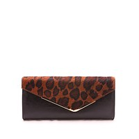 That Girl Clutch - Animal Print