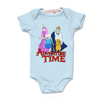 LoNyatanee Adventure Time Onesuit Baby Onesuit Bodysuit Kids Clothing