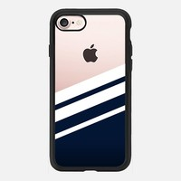 Navy - Transparant iPhone 7 Case by Nicklas Gustafsson | Casetify