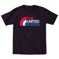 The United States Fun Holiday Patriotic - Mens T-Shirt