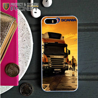 Afternoon Scania Logo Blue iPhone 5C Case|iPhonefy