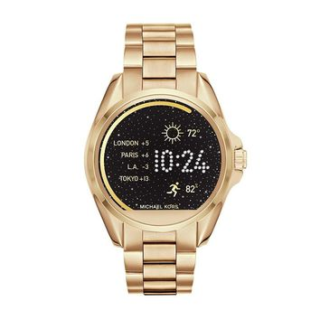 Michael Kors Access, Women's Smartwatch, Bradshaw Gold-Tone Stainless Steel, MKT5001