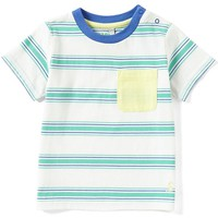 Joules Baby/Little Boys 12 Months-3T Olly Striped Short-Sleeve Pocket Tee | Dillards