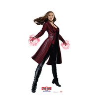 Captain America Civil War Scarlet Witch Cardboard Standup