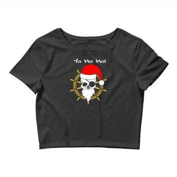 christmas pirates Crop Top