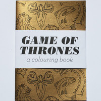 Team Art Game of Thrones Coloring Book